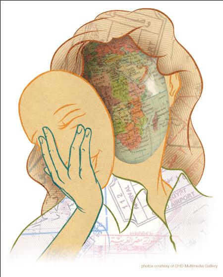 Illustration for Denizen by David Habben.
