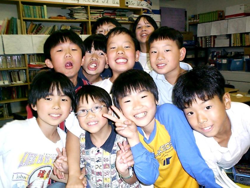 Fourth grade in Tokyo